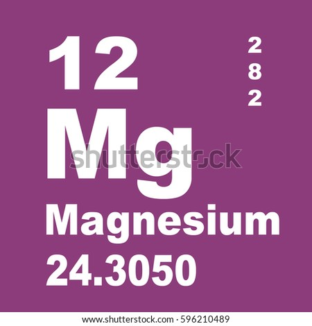 Magnesium periodic table elements stock illustration 596210489 magnesium periodic table of elements urtaz