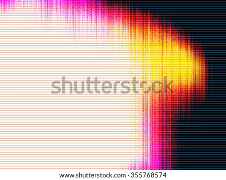 Magnetic Reality Reflection - stock photo