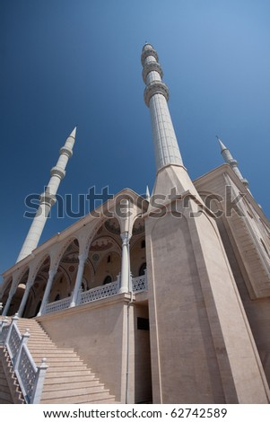 Magnificent mosque in Manavgat