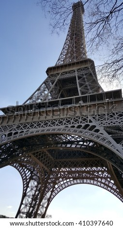 Magnificent views of the Eiffel Tower