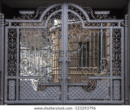 Magnificent Wroughtiron Gates Ornamental Forging Forged