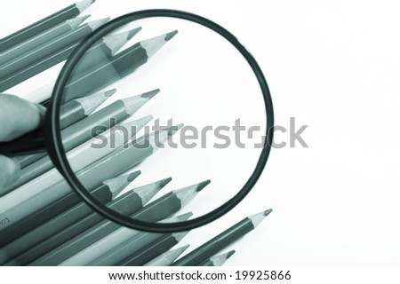 magnifier pencils