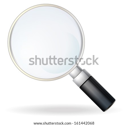 Magnifying Glass - Illustration
