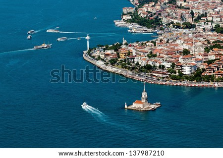 Maiden's Tower  - stock photo