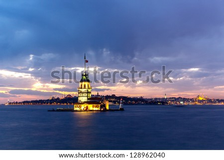 Maiden Tower - stock photo
