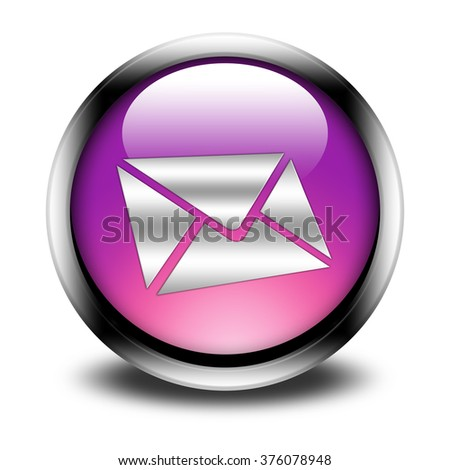 mail button isolated