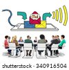 Mail Inbox Message Communication Technology Concept - stock photo