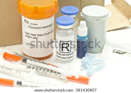 Mail order diabetic supplies and medications.