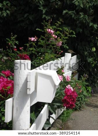 Mailbox scenic - stock photo