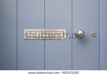 Mailboxes on a door detail of a mailbox for correspondence letters & Door Letterbox Stock Images Royalty-Free Images \u0026 Vectors ... Pezcame.Com