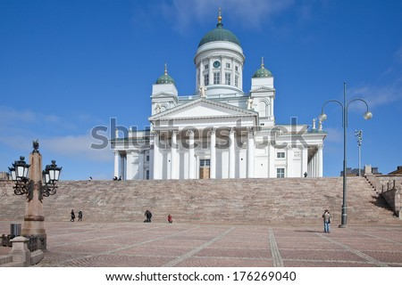 Main church of the Evangelical Lutheran Church of Finland in Helsinki