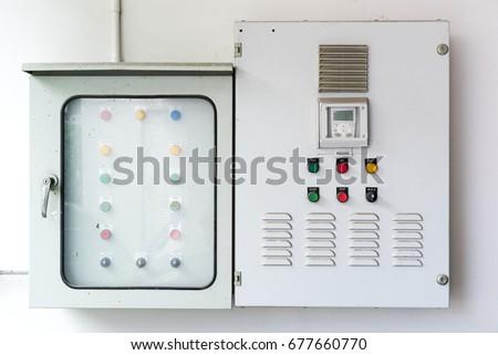 Main Electric Control Panel Boxes Condominium Stock Photo (Safe to ...