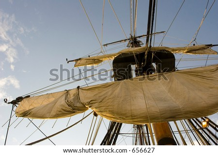 Main mast (exclusive at shutterstock)