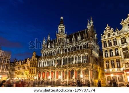 Maison du roi in Brussels, Belgium - stock photo