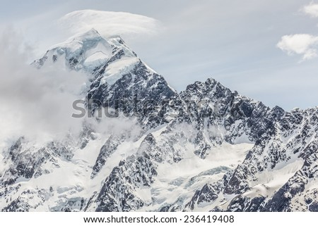 Majestic Mount Cook, Aoraki/Mount Cook National park