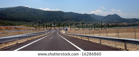 Majestic Views of Southern Europe, Highways.