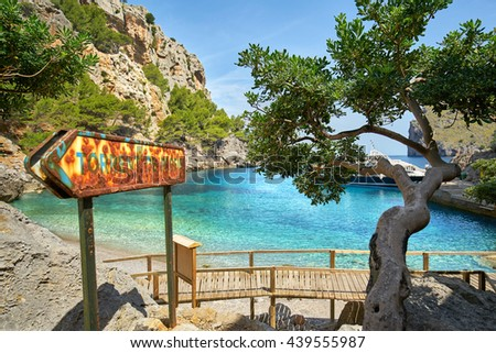 "Majorca Island, ""Torrent de Pareis"" Canyon and coast Sa Calobra ,Spain,"