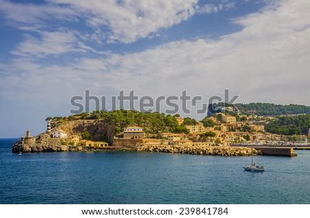 Majorca seaside - stock photo