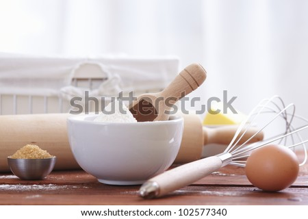 Make a cake - stock photo