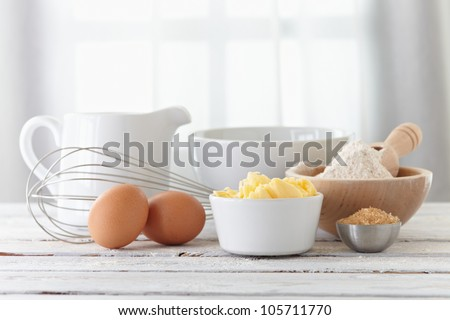 Make a cake - stock photo