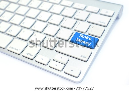 Make Money  button on keyboard