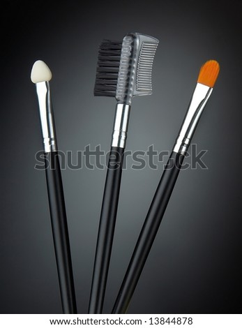 Make up equipment brush comb