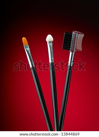 Make up equipment brush eyebrow comb