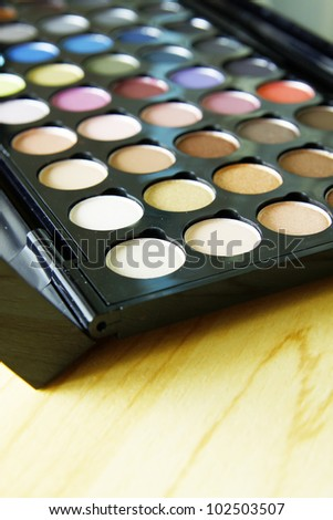Make up palette ,Color of beautiful