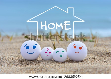 make your a house/concept image  - stock photo