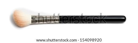 Makeup Brush Isolated - stock photo