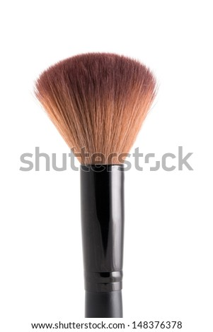 makeup brush  isolated on white background