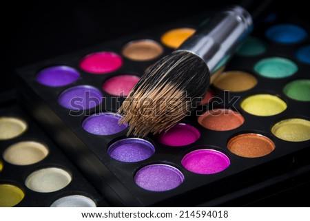 Makeup Brush & Palette