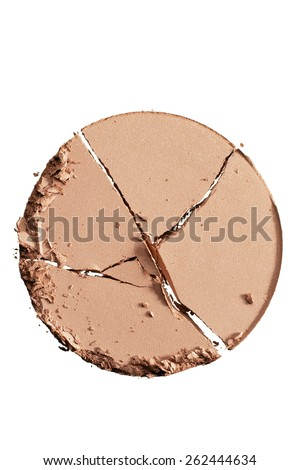 Makeup Crumble - stock photo