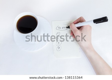 Making A List Stock Images, Royalty-Free Images & Vectors ...
