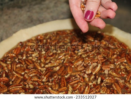 Making a Pecan Pie