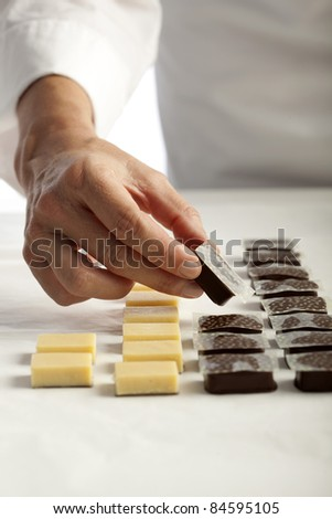 Making chocolates