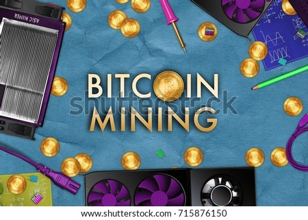 Making cryptocurrency mine concept on crumpled stock illustration making cryptocurrency mine concept on crumpled kraft paper with electronic tools and asic miner gpu voltagebd Gallery
