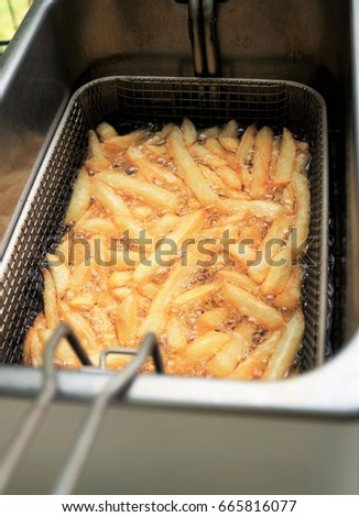 how to use a deep fryer for french fries