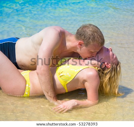 Making love - stock photo
