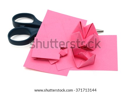 Making of Origami papers
