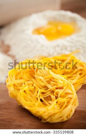 Making Pasta - stock photo