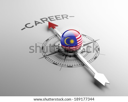 Malaysia High Resolution Career Concept