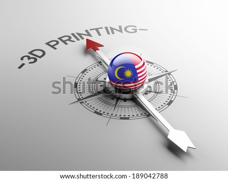 Malaysia High Resolution 3d Printing Concept