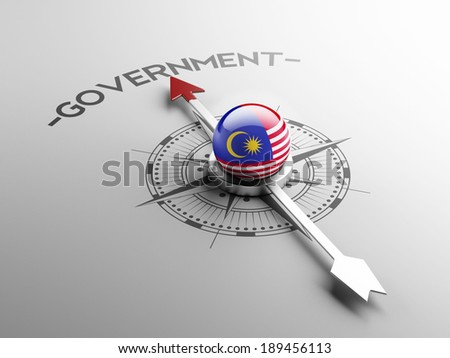 Malaysia High Resolution Government Concept