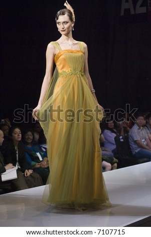 Malaysia International Fashion Week 2007 - Carven Ong