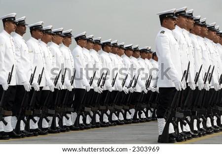 Malaysian Maritime Enforcement Agency, 2006. - stock photo