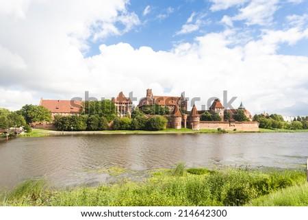 Malbork, Pomerania, Poland - stock photo