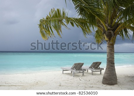 Maldives Island Monsoon