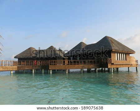 Maldives - tropical holiday resort