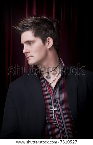 Male Fashion - stock photo